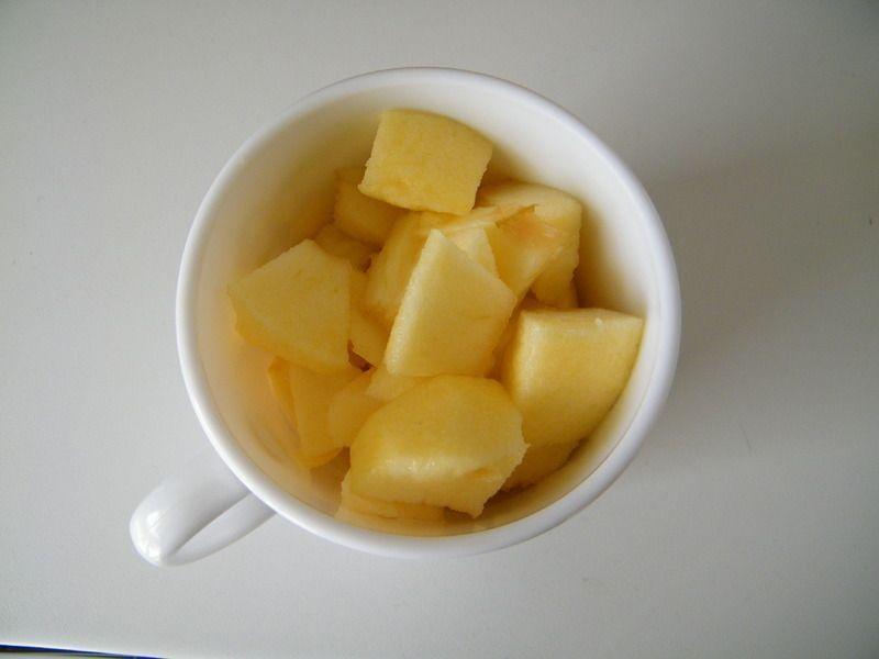 Mug Cake Pomme Sans Sucre
